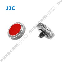 Soft Release Shutter Button Cekung Concave Original JJC Red Premium