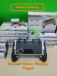 1 Paket Gamesir F1 Joystick Steam Controller - Gamepad PUBG Stik L1R1