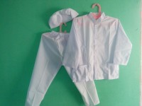 Baju Muslim |Baju Koko Anak Laki laki Warna Putih 4, 5 Tahun