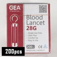 Gea Jarum gula darah / Blood lancet / Bekam easy touch nesco gluco
