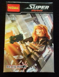 Lego merk Decool Marvel Black Widow