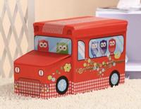 N2 OWL Storage Box / Cartoon Storage BUS Kotak peyimpanan mainan toys