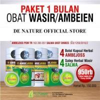 4 Paket Ambejoss Salwa De Nature Obat Wasir Ambeien Herbal Original
