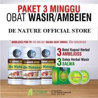 3 Paket Ambejoss Salwa De Nature Obat Wasir Ambeien Herbal Original