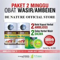 2 Paket Ambejoss Salwa De Nature Obat Wasir Ambeien Herbal Original