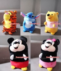 Boneka Guling Tsum Tsum Ufufy Disney Soft Yelvo Lucu Berkualitas