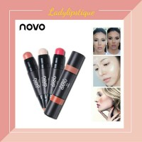 Novo Blush On Stick Silky Texture
