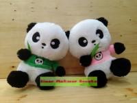 Boneka Panda Hu Chun Mata Bulat Lucuu dan Imut