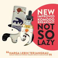 Vape Liquid Komodo Breakfast Not So Lazy 6MG 60ML NWOS by MILF MOVI