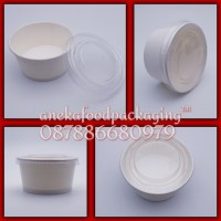 Paper cup ice cream 5oz+lid bening