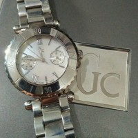 GC Ladies Watch Mother of Pearl Dial Guess Collection Jam ORI Original