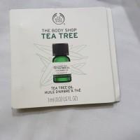 The body shop tea tree oil sample size 1 ml original