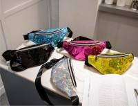 Waist bag hologram / tas pinggang / waistbag wanita import murah kl20