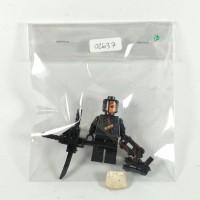 BRICK-IN-BAG 02637 CUSTOM DEATHSTROKE LEGO KW DC BATMAN MINIFIGURE