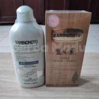 Paket Kaminomoto I: 1pcs Hair Growth Accelerator (Gold) + 1pcs Shampoo