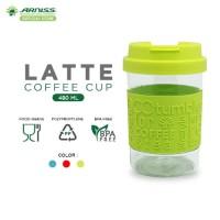 Arniss Latte Coffee Cup - DC-0805 / Botol Minum Tumbler