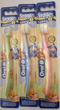 Sikat Gigi Bayi dan Anak Oral B ORIGINAL OralB anak stage 2 (2-4tahun)