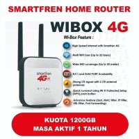 Modem Wifi 4G Router WiBox Wi Box W1 Smartfren [Free 1200 GB 1 Tahun]