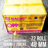 Lakban Nachi / OPP Tape Go-Kilat Bandung (1 dus)