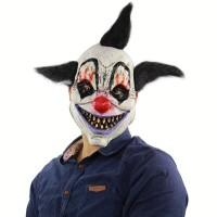Topeng badut punk seram clown mask party Halloween payday latex
