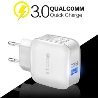 stonego QC.3.0 usb wall charger with smart IC - putih