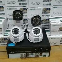 PAKET CCTV 4CH AHD 1.3MEGAPIXEL KOMPLIT