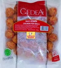 Cedea Baso Salmon (Salmon fish ball ) 500gr - termurah