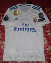 Jersey Real Madrid 2017/2018 Final UCL