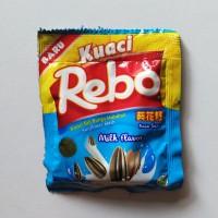 kuaci rebo milk flavour kemasan sachet [6gr]