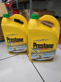 Prestone Antifreeze Radiator Coolant Warna Hijau ukuran Galon (3.78L)
