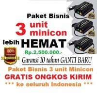 Paket 3 unit MINICON penghemat BBM / Member / Business