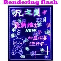promo LED Writing Board Papan tulis LED Papan Iklan 1 Set 40 x 60cm