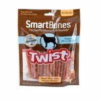 smartbones twist stick peanut butter / dog snack food / makanan anjing