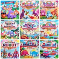 Buku gambar anak / Buku mewarnai Untuk PAUD dan TK 24 halaman 24x28cm