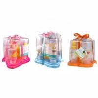 Paket Rak + 4 Botol Susu Hadiah Bayi Pooh Disney Baby Gift