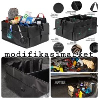 CAR TOOL BOX STORAGE / CAR ORGANIZER BAGASI MOBIL / CAR TRUNK STORAGE