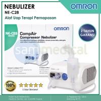 OMRON NE-C28 Nebulizer Compressor / Alat Uap BERGARANSI 2 TAHUN