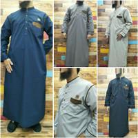 gamis jubah laki laki/ikhwan al amwa/ jubah al amwa katun cvc redtob