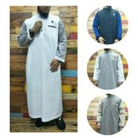 gamis jubah ikhwan(laki laki)kombinasi al amwa/jubah sanghai al amwa