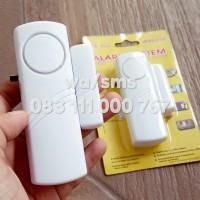 Alarm Anti Maling gen-2 (NEW) - wireless System Pintu Dan Jendela