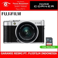FUJIFILM X-A20 Kit 15-45mm f/3.5-5.6 (Silver)