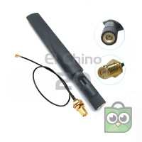 Antena 5dbi Dual-band 2.4Ghz & 5.8Ghz dan Pigtail - Fit for RC DRONE