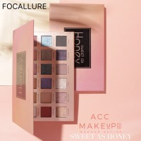 Focallure 18 Colors SWEET AS HONEY Eyeshadow Palette with Mirror #153