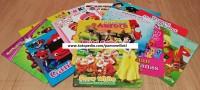 buku bergambar grosir buku gambar mainan edukasi anak kartun isi 300