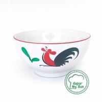 Grosir Mangkok Nasi Besar Ayam Jago seri 2 - Mangkok Sup