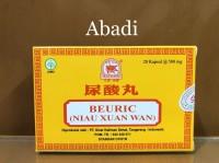 Beuric (Niau Xuan Wan) Strip isi 20 - Obat Asam Urat, Kolesterol