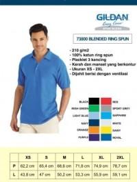 Kaos Polo Impor GILDAN 73800 – Easy Care Adult Pique Sport Shirt