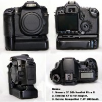 Canon 40D Body Only dan Battery Grip BG