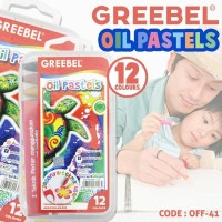 Crayon Krayon 12 Warna Greebel Oil Pastels Off41