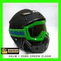 Helm JPN MOMO Google Masker OSBE ( Helm Klasik / Helm Vespa )